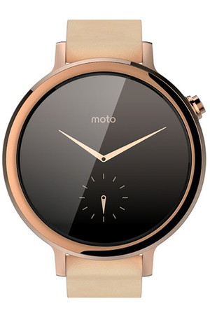 montre connect e motorola moto 360 v2 femme 42mm or rose darty. Black Bedroom Furniture Sets. Home Design Ideas