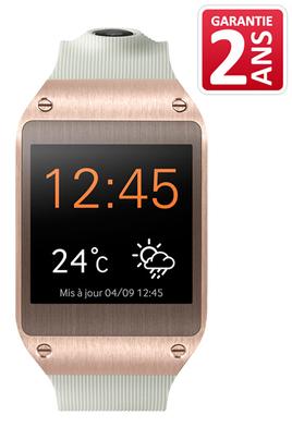 Montre connectée Samsung Galaxy Gear Rose/Or (3811298)