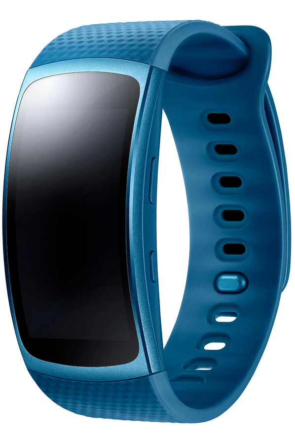 montre connect e samsung gear fit 2 taille s bleu gear fit 4234472 darty. Black Bedroom Furniture Sets. Home Design Ideas