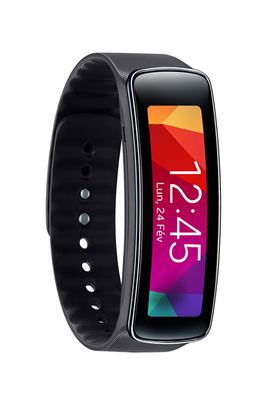 bracelets connect s samsung gear fit noir gear fit noir 4005635 darty. Black Bedroom Furniture Sets. Home Design Ideas