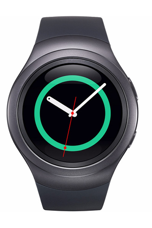 montre connect e samsung gear s2 noir darty. Black Bedroom Furniture Sets. Home Design Ideas