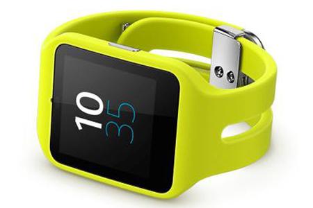 montre connect e sony smartwatch 3 swr50 jaune darty. Black Bedroom Furniture Sets. Home Design Ideas