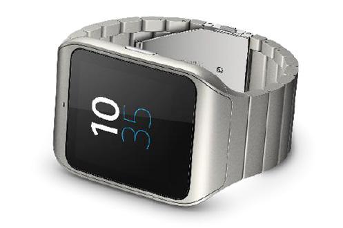 montre connect e sony smartwatch 3 metal silver. Black Bedroom Furniture Sets. Home Design Ideas