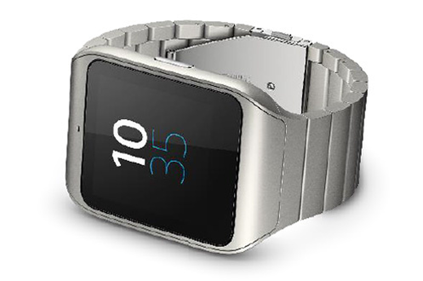 montre connect e sony smartwatch 3 metal silver. Black Bedroom Furniture Sets. Home Design Ideas