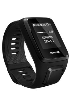 Montre connectée SPARK 3 CARDIO + MUSIC LARGE NOIR Tomtom