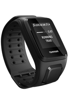Montre connectée SPARK MUSIC + CARDIO LARGE NOIR Tomtom