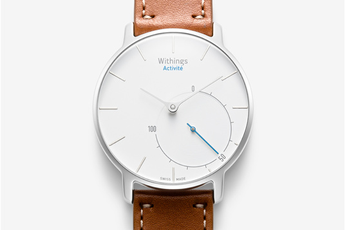 Montre connectée Activité BLANC/MARRON Withings