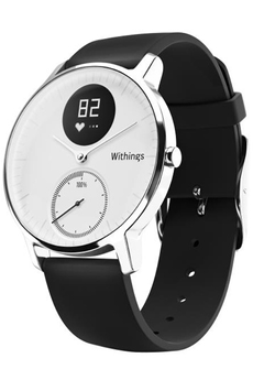 Montre connectée STEEL HR 36 MM BLANCHE Withings