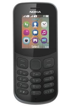Téléphone portable Nokia 130 DUAL SIM NOIR