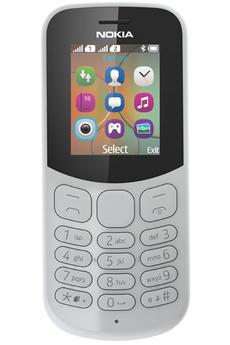 Téléphone portable Nokia 130 DUAL SIM GRIS