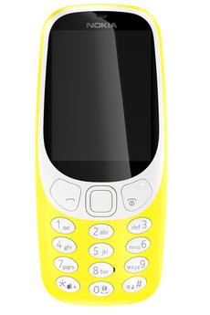Téléphone portable Nokia 3310 JAUNE