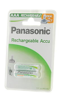 Pile rechargeable EVOLTA AAA LR03 800 mAh x2 Panasonic