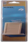 Cordon et fiche téléphone Plug It Filtre ADSL Maître