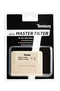 Cordon et fiche téléphone Filtre ADSL Maître Temium