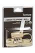 Temium Cordon téléphone Fiche T mâle - RJ11 3m photo 2
