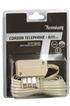Temium Cordon téléphone fiche T RJ11 5m photo 2