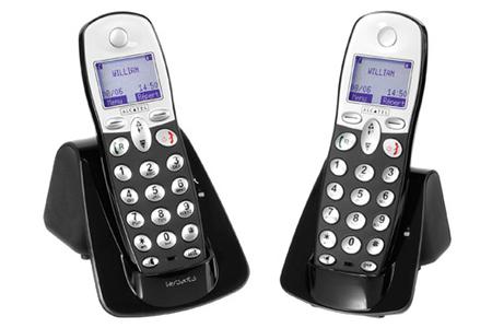 t l phone sans fil alcatel versatis max 550 duo darty. Black Bedroom Furniture Sets. Home Design Ideas