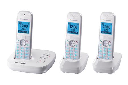 099819fcddf9b6 Téléphone sans fil Panasonic KX-TG5523   Darty