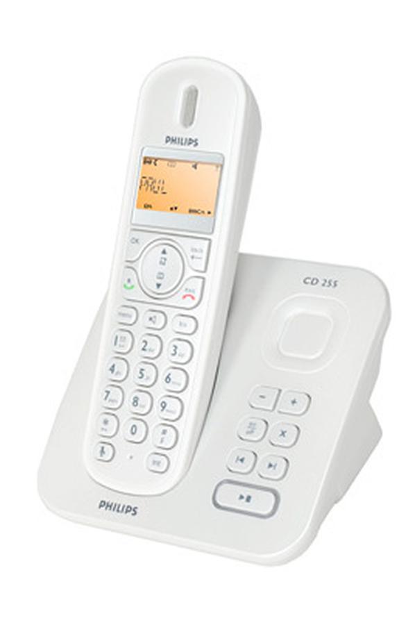 t l phone sans fil philips cd2551s ft 3384659 darty. Black Bedroom Furniture Sets. Home Design Ideas