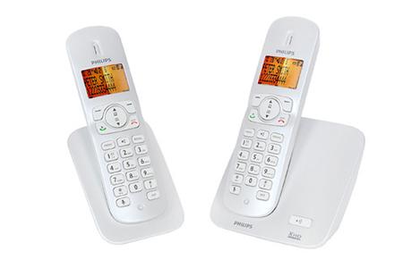 t l phone sans fil philips cd2702s 38 darty. Black Bedroom Furniture Sets. Home Design Ideas