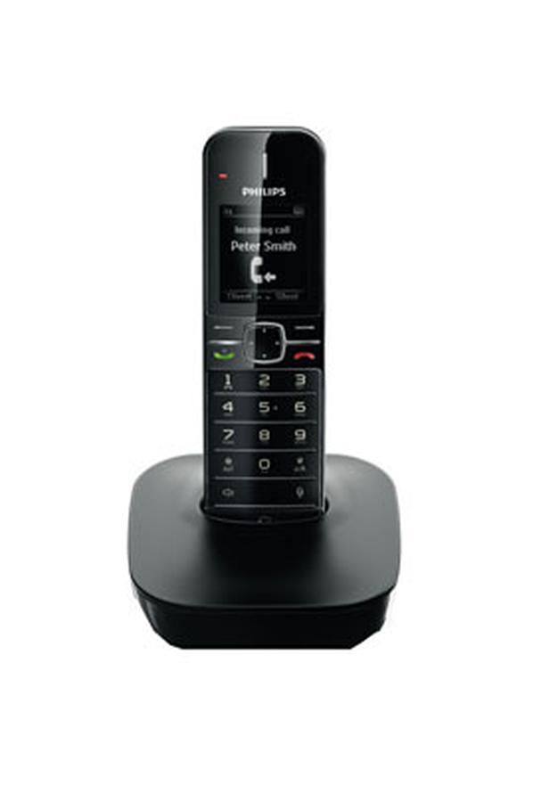 t l phone sans fil philips cd4801b fr 3440486 darty. Black Bedroom Furniture Sets. Home Design Ideas