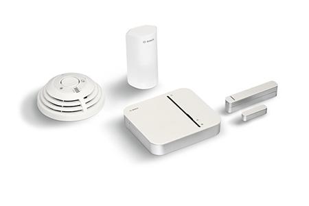 alarme maison bosch kit de demarrage securite smart home darty. Black Bedroom Furniture Sets. Home Design Ideas